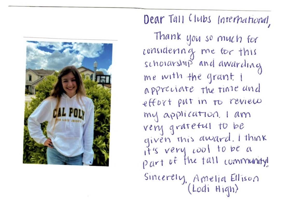 Amelia's Thank You Note